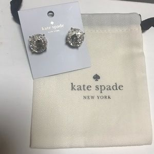Kate Spade New York Large Round Clear Stud Earring
